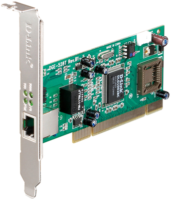 Gigabit LP 10/100/1000 PCI Ethernet Card