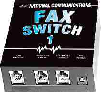 National Communications Fax switch