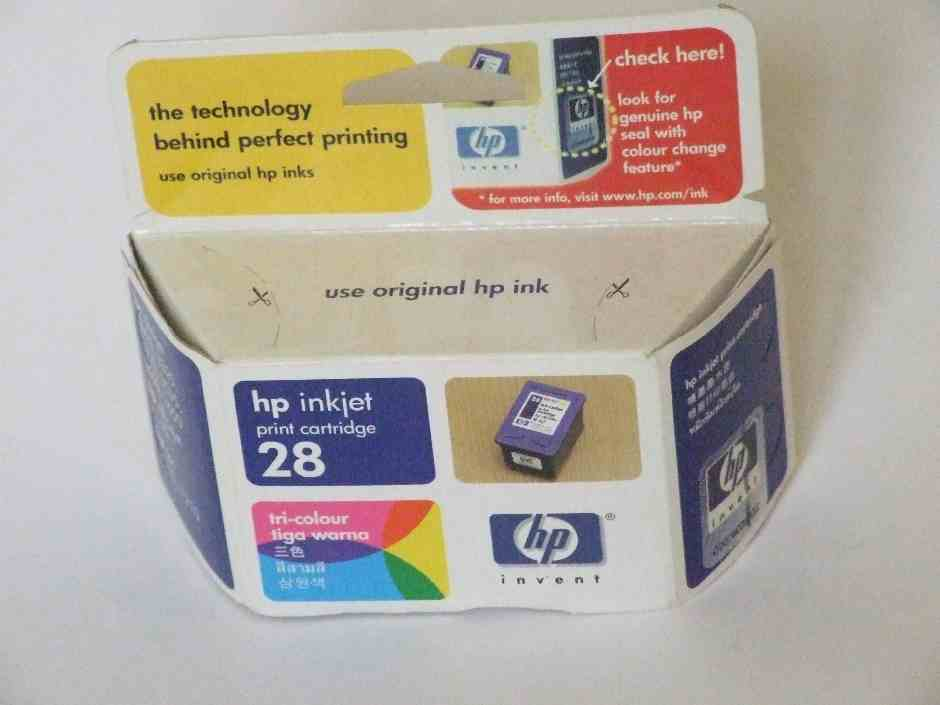 HP No.28 Colour Ink Cartridge