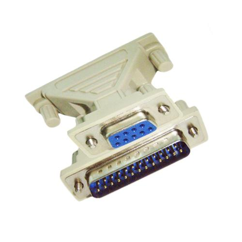 Adaptor - RS232 25pin male to 9 pin female